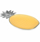 "Julia Knight Pineapple 15.75"" Platter Saffron"
