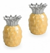 Julia Knight Pineapple Salt & Pepper Shakers Saffron