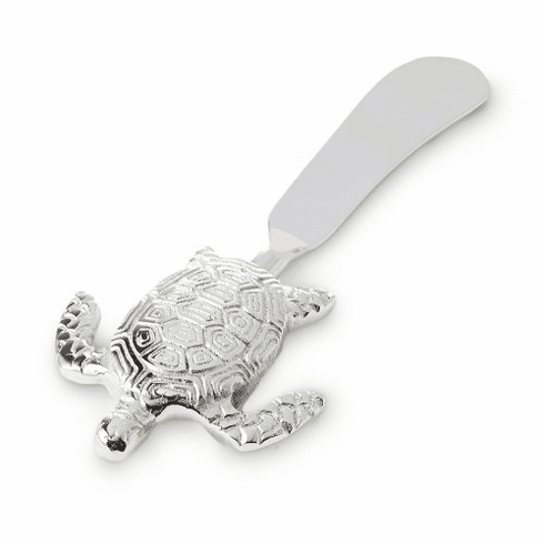 Julia Knight Turtle Spreader Knife silver