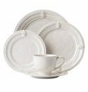 Juliska Acanthus 5pc Setting - Whitewash