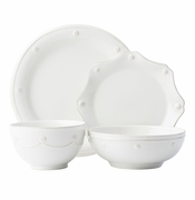Juliska Berry & Thread Dinnerware - Whitewash