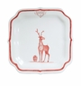 Juliska Country Estate Reindeer Games Ruby Party Plate Rudolph