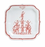 Juliska Country Estate Reindeer Games Ruby Party Plate The Coaches