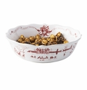 Juliska Country Estate Winter Frolic Ruby 10in. Serving Bowl