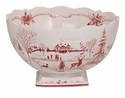Juliska Country Estate Winter Frolic Ruby 13in. Centerpiece Bowl