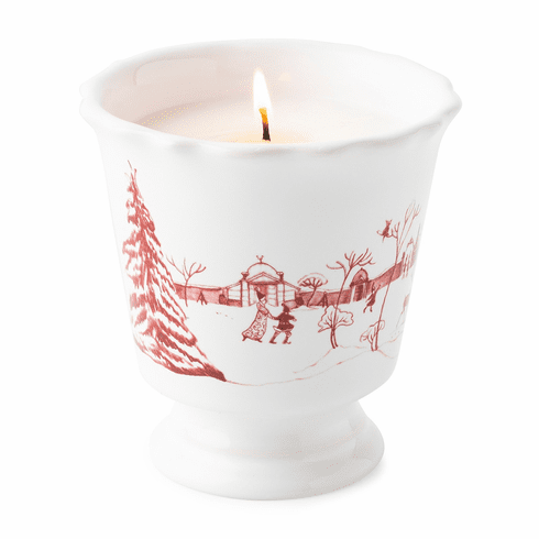 Juliska Country Estate Winter Frolic Ruby Scented Candle