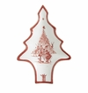 Juliska Country Estate Winter Frolic Ruby Tree Tray Merry Making