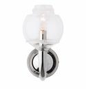 Juliska Dean Double Shade on Paris Sconce in Nickel