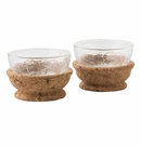 Juliska Quinta Hugo Natural Pinch Bowls Set of 2