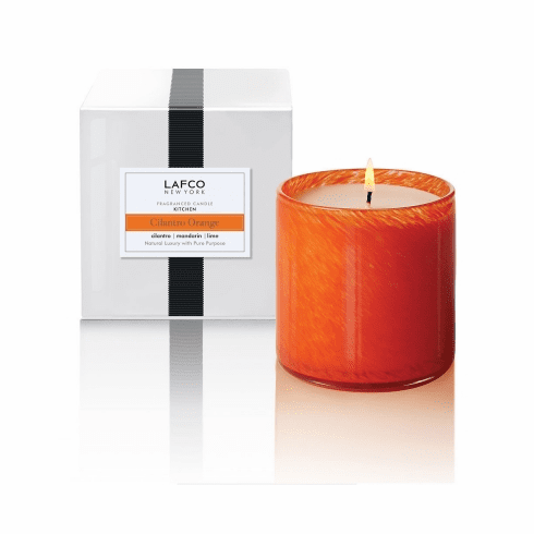 Lafco 15.5 oz Cilantro Orange Signature Candle - Kitchen