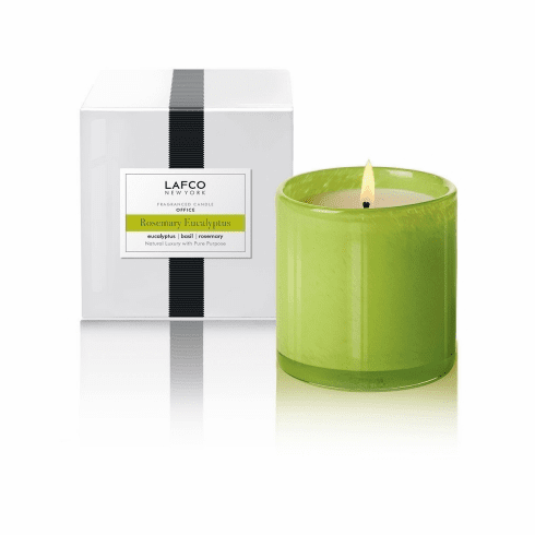 Lafco 15.5 oz Rosemary Eucalyptus Signature Candle - Office