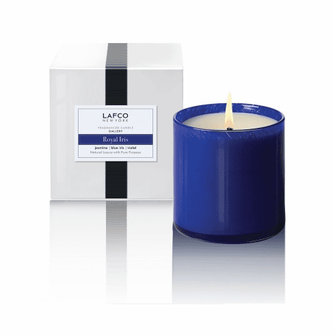 Lafco 15.5 oz Royal Iris Signature Candle - Gallery