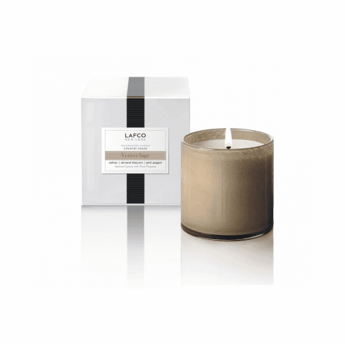 LAFCO 15.5 oz Vetiver Sage Signature Candle - Country House