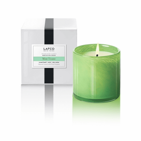 Lafco 15.5oz Mint Tisane Signature Candle - Meditation Room