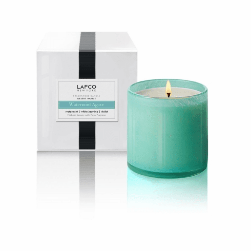 Lafco 15.5oz Watermint Agave Signature Candle - Desert House