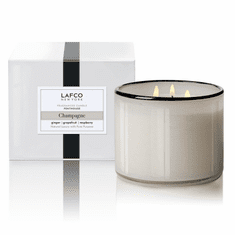 Lafco 30oz Champagne 3-Wick Candle - Penthouse
