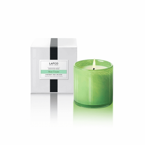 Lafco 6.5oz Mint Tisane Classic Candle - Meditation Room