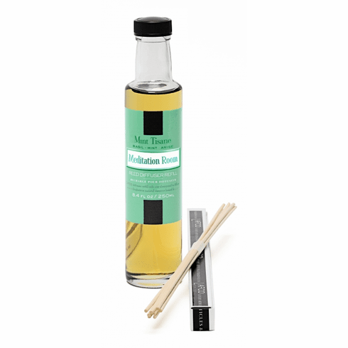 Lafco 8.4oz Mint Tisane Reed Diffuser Refill - Meditation Room