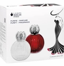 Lampe Berger Plisse Lamp Set Red