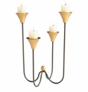 Large Bell Tower Iron Candleholder by Cyan Design