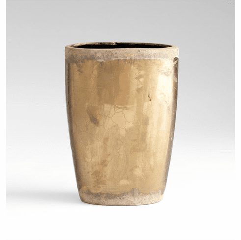 Large Ceramic Bronze Planter by Cyan Design