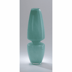 Large Gabriella Turquoise Glass Vase by Cyan Design