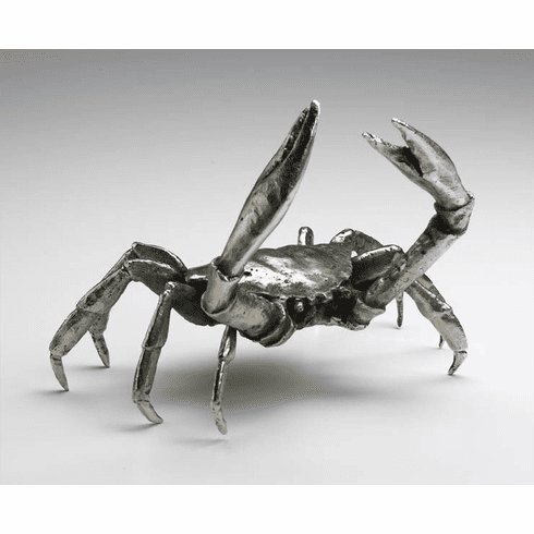 Large Iron Crab Sculpture by Cyan Design
