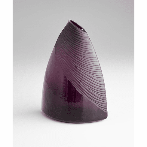 Large Mount Amethyst Vase by Cyan Design