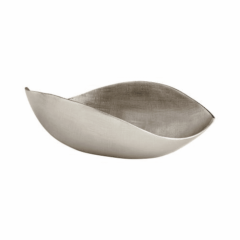 Large Nickel Thea Tray by Cyan Design