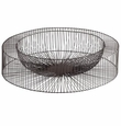 Large Wire Wheel Tray by Cyan Design