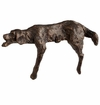 Lazy Dog Bronzed Iron Sculpture by Cyan Design
