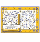 Le Cadeaux Benidorm Placemats (20) and Dinner Napkins (20pk) Set