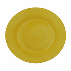 """Le Cadeaux Campania Yellow 16"""" Family Style Platter"""