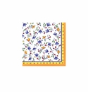 Le Cadeaux Capri Patterned Paper Cocktail Napkin 10 X 10 20Pk