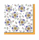 Le Cadeaux Capri Patterned Paper Dinner Napkins 15.75 X 15.75 20Pk