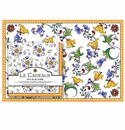 Le Cadeaux Capri Placemats (20) and Dinner Napkins (20pk) Set