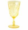 Le Cadeaux Casablanca Polycarbonate Wine Glass - Yellow