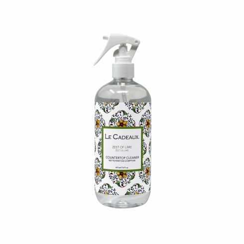 Le Cadeaux Counter Top Cleaner 16 0Z Fresh Zest Of Lime