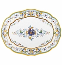 Le Cadeaux Florence 22X17 Oval Tray