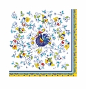 Le Cadeaux Florence Patterned Paper Dinner Napkin 15.75 X 15.75 (Pack Of 20)