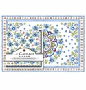 Le Cadeaux Gift Set Of Placemats And Dinner Napkins (Pack Of 20 Each) Madrid White