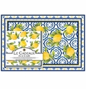 Le Cadeaux Gift Set Of Placemats And Dinner Napkins (Pack Of 20 Each) Palermo