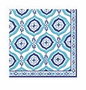 Le Cadeaux Havana Patterned Paper Dinner Napkins 15.75 X 15.75 20Pk