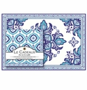 Le Cadeaux Havana Placemats (20) and Dinner Napkins (20pk) Set