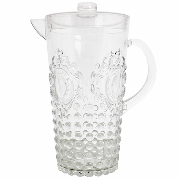 Le Cadeaux Jewel Pitcher With Lid Clear (Acrylic) 82 Oz