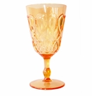 Le Cadeaux Polycarbonate Casablanca Wine Glass - Orange