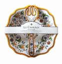 Le Cadeaux Salad Bowl And Servers Gift Set Capri