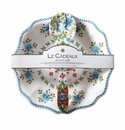 Le Cadeaux Salad Bowl And Servers Gift Set  Madrid White