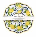 Le Cadeaux Salad Bowl And Servers Gift Set  Palermo