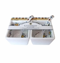 Le Cadeaux Snack Bowl And Spoon (2) Gift Set Capri